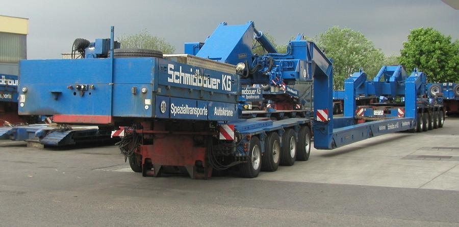 Goldhofer - 80 Tonnen Kesselbrücke