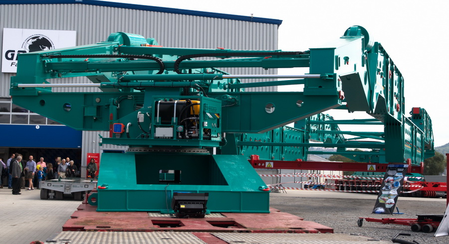 Greiner - 500 Tonnen Kesselbrücke